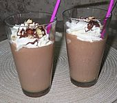 Nutella Milchshake (Bild)