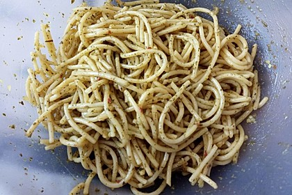 Spaghetti-Knoblauch-Salat 3