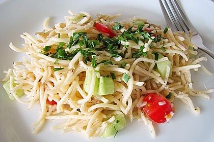 Spaghetti-Knoblauch-Salat 1