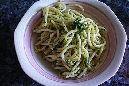 Spaghetti-Knoblauch-Salat