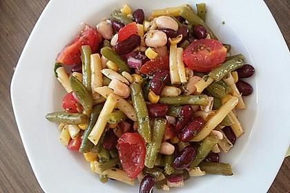 Heikes bunter Bohnensalat