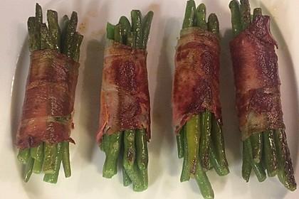 Grüne Bohnen im Bacon-Mantel à la Didi 3