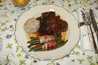 Grüne Bohnen im Bacon-Mantel à la Didi 4