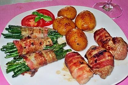 Grüne Bohnen im Bacon-Mantel à la Didi 5