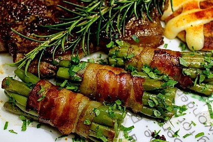 Grüne Bohnen im Bacon-Mantel à la Didi