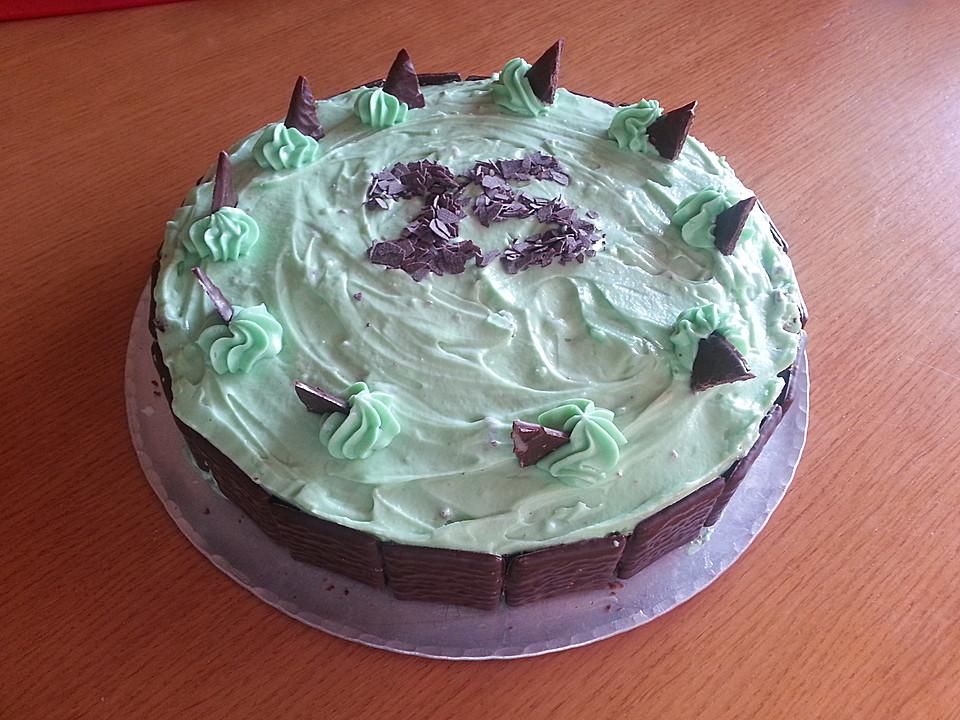 Kleine Grashopper Torte