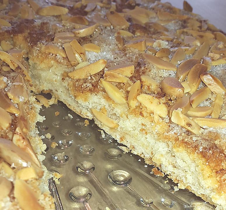 Schneller Butterkuchen Aus Quark Ol Teig Von Tanteannette Chefkoch De