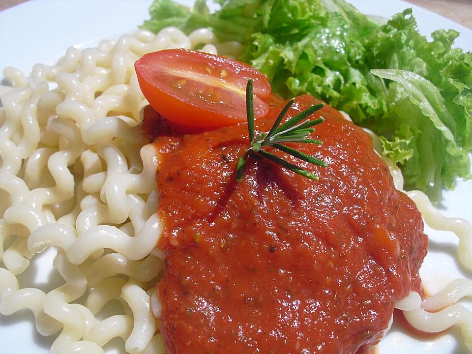 1 Minute Tomatensauce Von Multikochde Chefkochde