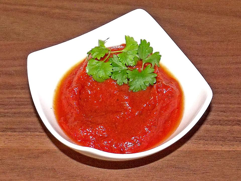 tomatensauce mit passierten tomaten