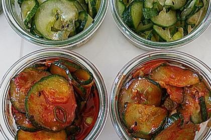 Scharfer koreanischer Gurkensalat 2