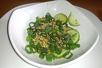 Scharfer koreanischer Gurkensalat 3