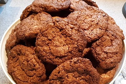 Schoko-Brownie-Cookies