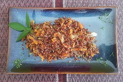 Quinoasalat mit Karotte und Fenchel