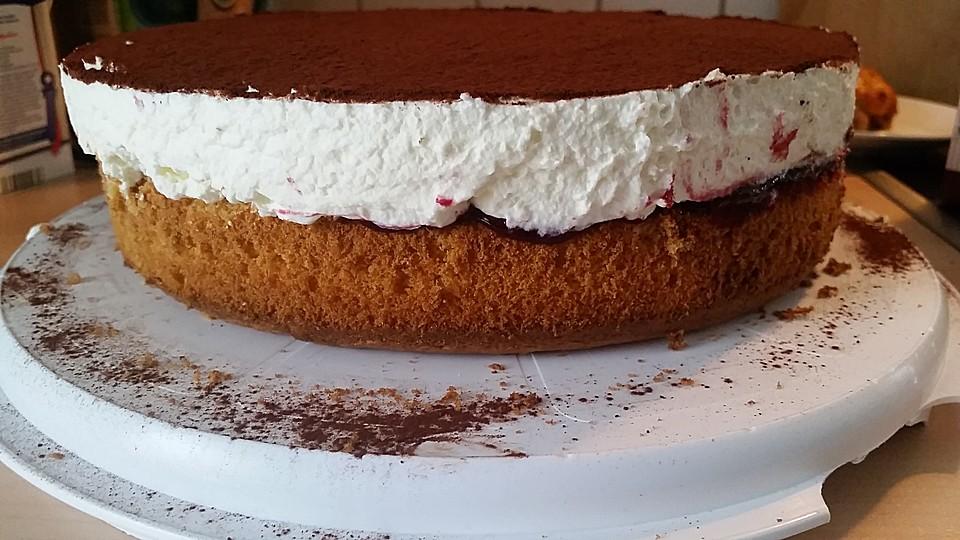Bananen Sahne Rum Kuchen Von Schokitiger Chefkoch De