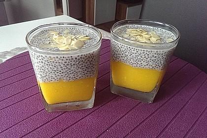 Chia-Mango-Pudding