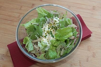 Kopfsalat mit Rettich à la Gabi