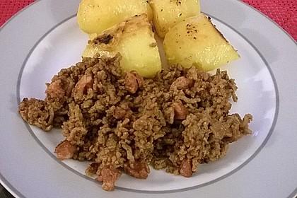 Bratkartoffeln mit Beamtenstippe 7