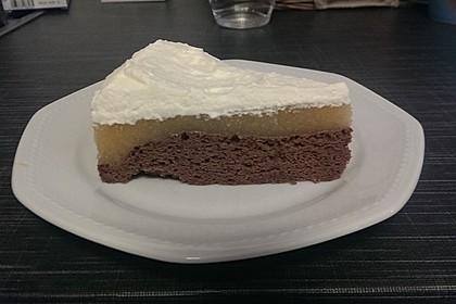 Apfelmus-Sahne-Torte 4