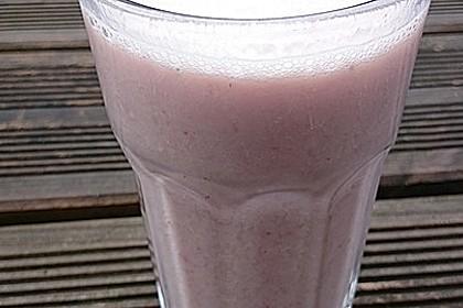 Erdbeer-Hafer-Milchshake 1