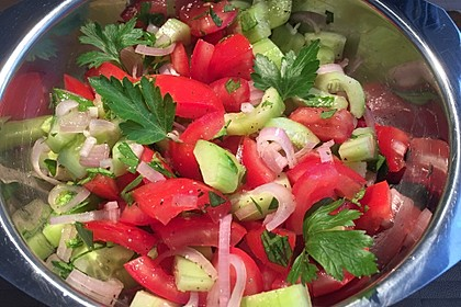 Israelischer Salat 1