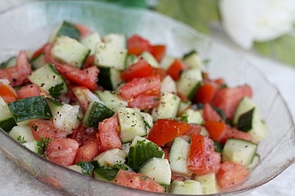 Israelischer Salat 2