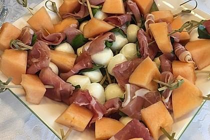 Melonen-Mozzarella-Prosciutto-Sticks 19