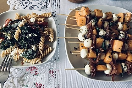 Melonen-Mozzarella-Prosciutto-Sticks 22