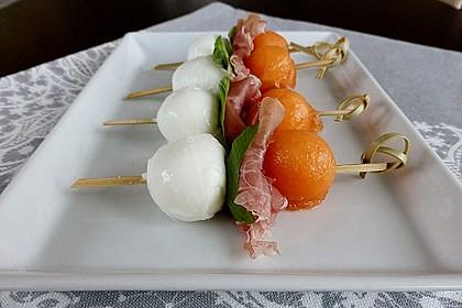 Melonen-Mozzarella-Prosciutto-Sticks 5