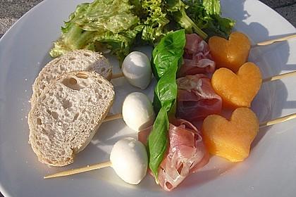 Melonen-Mozzarella-Prosciutto-Sticks 7
