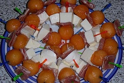 Melonen-Mozzarella-Prosciutto-Sticks 21