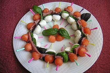 Melonen-Mozzarella-Prosciutto-Sticks 20