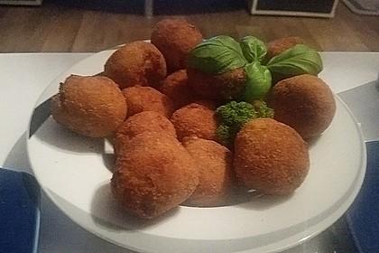 Karibische Kartoffel-Garnelen-Bällchen