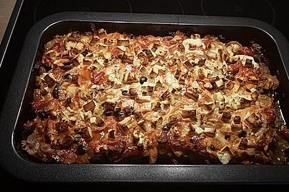 Low-Carb Hackfleischpizza