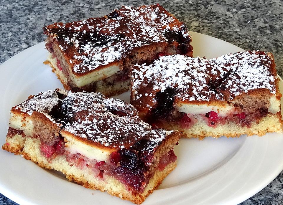 Saftiger Klecks Kuchen Mit Johannisbeeren Von Wilde Biene Chefkoch De