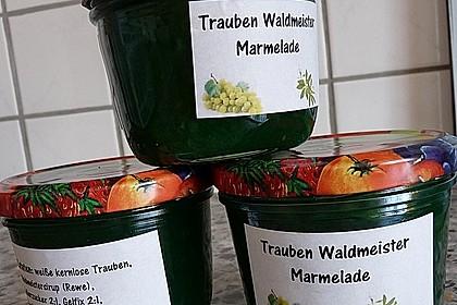 Trauben-Waldmeister-Marmelade (Bild)