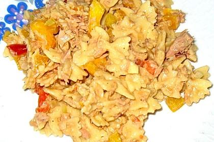 Nudelsalat mit Thunfisch ohne Mayo 7