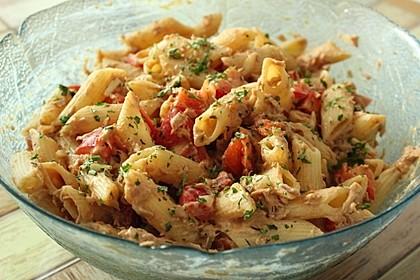 Nudelsalat mit Thunfisch ohne Mayo 2