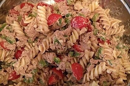 Nudelsalat mit Thunfisch ohne Mayo 6