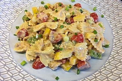 Nudelsalat mit Thunfisch ohne Mayo (Bild)