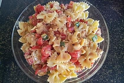 Nudelsalat mit Thunfisch ohne Mayo 1