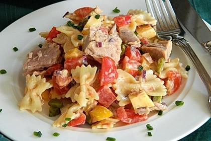 Nudelsalat mit Thunfisch ohne Mayo