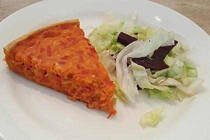 Vegetarische Paprika-Zwiebel-Quiche 10