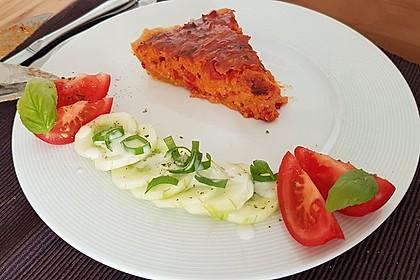 Vegetarische Paprika-Zwiebel-Quiche 19