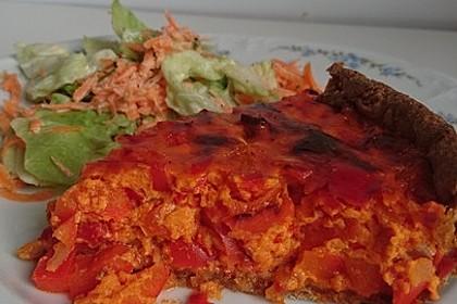 Vegetarische Paprika-Zwiebel-Quiche 30