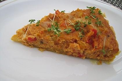 Vegetarische Paprika-Zwiebel-Quiche 24