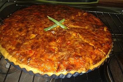 Vegetarische Paprika-Zwiebel-Quiche 17