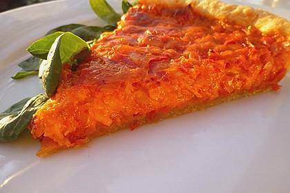 Vegetarische Paprika-Zwiebel-Quiche 1