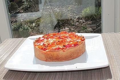 Vegetarische Paprika-Zwiebel-Quiche 27