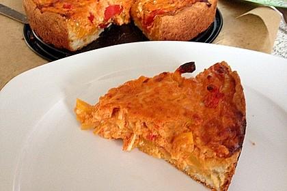 Vegetarische Paprika-Zwiebel-Quiche 26