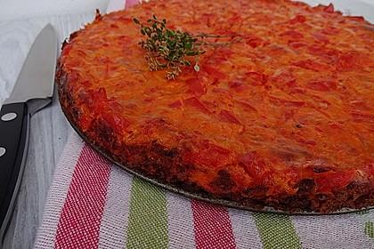 Vegetarische Paprika-Zwiebel-Quiche 23